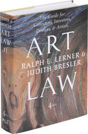 Ralph E Lerner Art Law Volume 2