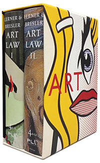 Ralph E Lerner Art Law Volumes 1 and 2
