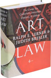 Ralph E Lerner Art Law Vol 1